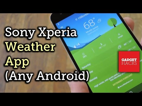 Get Sony's Latest Xperia Weather App on Almost Any Android Device [How-To]