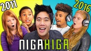 TEENS REACT TO THEMSELVES ON KIDS REACT (NigaHiga)