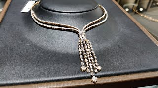 Part 2 _ Tanishq Diamond Necklace Designs  Collection With Price