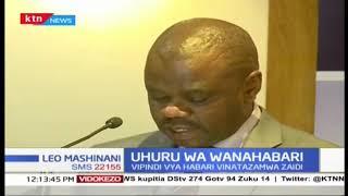 Barala la Viombo vya Habari MCK latoa utafiti kuhusu Uhuru wa Wanahabari