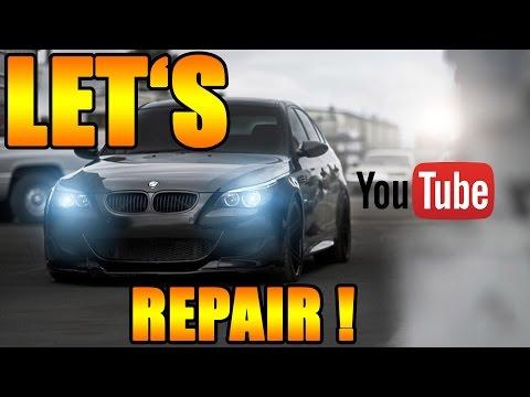 Let's Repair BMW - 730d E65 Bremse vorne selber wechseln [BMW E65 730d]  DIY
