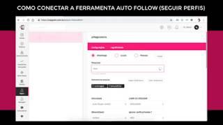 Topgram - Como Conectar o Auto Follow (seguir perfis)
