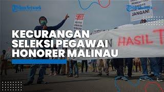 Puluhan Orang Demo, Dugaan Ada Kecuragan Seleksi Pegawai Honorer di Pemkab Malinau