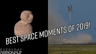 The Best Spaceflight & Space Science Events of the Year!!! The 2019 Astro Awards!