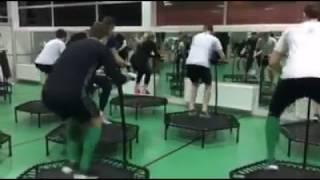 Жена капитана Ворсклы тренирует футболистов