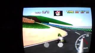 "luigi raceway  1'58""76 GOD"