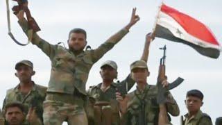 В Сирии правительственные войска направляются к зоне, которую зачищают от боевиков.