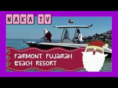 Fairmont Fujairah Beach Resort Christmas 2019