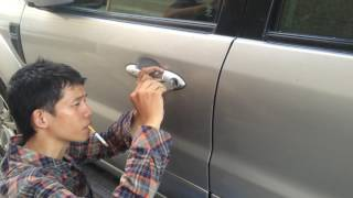 Unlock the car door ford escape