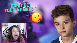 This Guy Ask POKIMANE For Her Number Fortnite Duos   12 Year Old Kid Ask For Poki Number