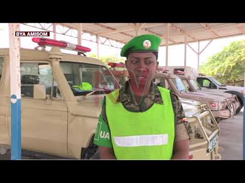 Wuuno owa AMISOM avuga Ambulance mu ddwaniro