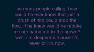 Nicole C Mullen One Touch (press) Lyrics