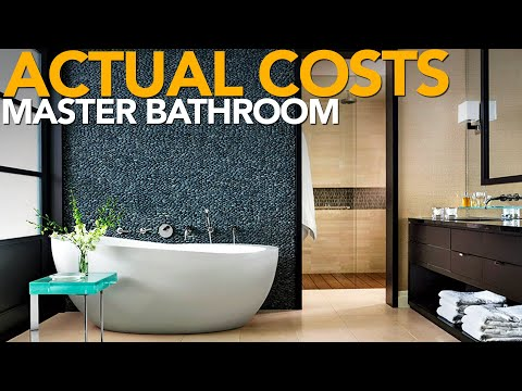 How Much Does A Master Bathroom Remodel Cost? General Contractor Answers Remodeling Questions