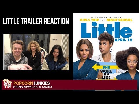 Little Official Trailer - The Popcorn Junkies & Nadia Sawalha Movie Trailer Reaction