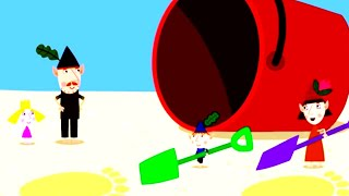 Ben and Holly's Little Kingdom | Beach Bums | Kids Videos