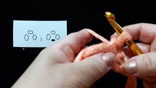 18 Урок. Пико простое и с закрепом. Техника быстрого вязания. Крючок для начинающих.