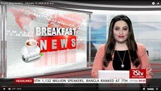 English News Bulletin – February 19, 2020 (9:30 am)