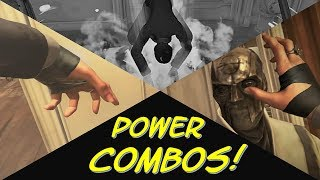【Dishonored 2】 Creative Power Combos! (High Chaos)