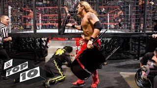 Shocking Elimination Chamber Match moments: WWE Top 10, Feb. 9, 2019