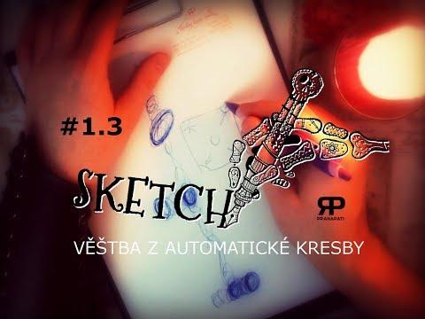 Sketch #1.3 - věštba z automatické kresby