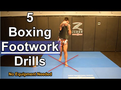 5 ESSENTIAL Boxing Footwork Drills For Beginners You Can Do At ...