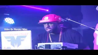 Funkmaster Flex live at Maingate Night Club Video By Mendez Niles
