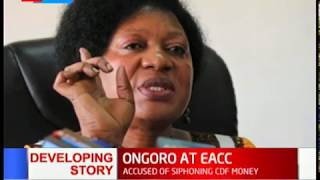 Elizabeth Ongoro present herself at integrity center over ghost CDF school project