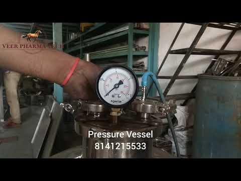 Stainless Steel Chemical Pressure Vessel