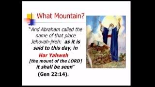 Abraham at Sinai