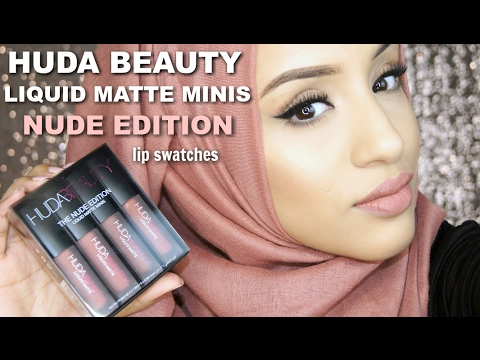 Liquid Matte Lipstick by Huda Beauty #3