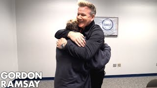 Young Girl Battling Cancer Get a Surprise of a Lifetime by Gordon Ramsay