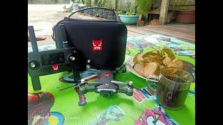 Footage Drone Mjx Bugs 7 di Sore hari