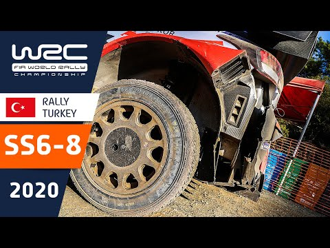 WRC ラリー・ターキー(トルコ)。SS6ーSS8の様子をダイジェストで楽しめるハイライト動画
