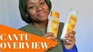Cantu Shea Butter Hydrating Cream Shampoo & Conditioner Review