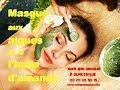 Masque visage à base d'algues, huile d'amande et eau minérale - Mon Bio ...