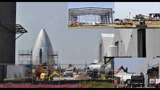 SpaceX Boca Chica - Facility Preparations Continue for mass Starship Production