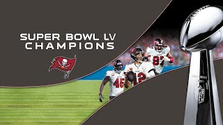 NFL Super Bowl LV Champions: Tampa Bay Buccaneers- Exclusive Clip Going To Super Bowl 55