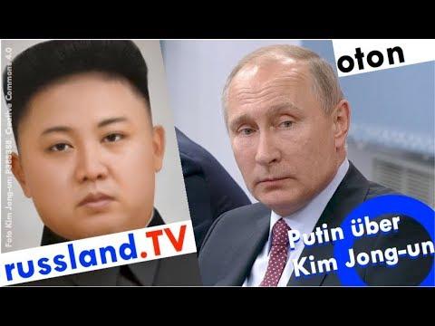 Putin über Kim Jong-un auf deutsch [Video]
