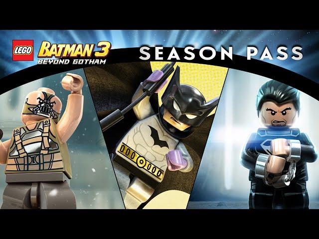 Lego Batman 3 Season Pass Trailer | AllMusicSite.com