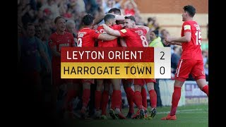 HIGHLIGHTS: Leyton Orient 2-0 Harrogate Town