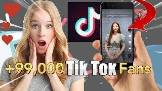Gambar cover Tik Tok Free Followers - How to get Fans on Tik Tok ?