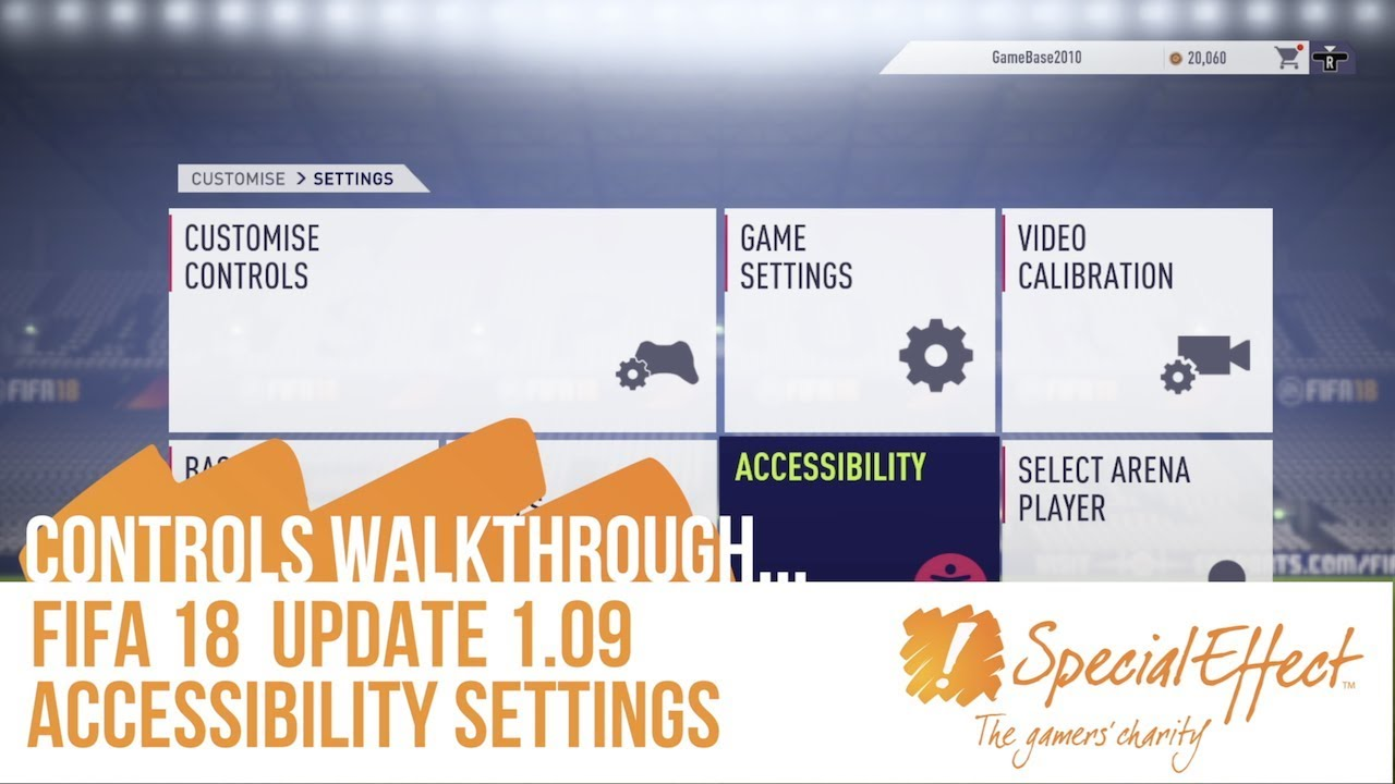 video placeholder for FIFA 18 Accessibility Settings (1.09 Update) | Controls Walkthrough