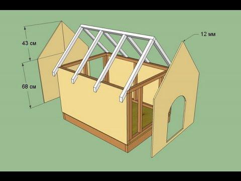 Hundehütte selber bauen. Hundehütte bauanleitung. Diy hundehütte.