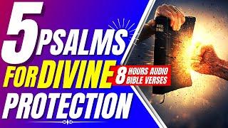 Psalm 91, psalm 34, psalm 61, psalm 7, psalm 31 (Prayer for protection Bible verses for sleep)