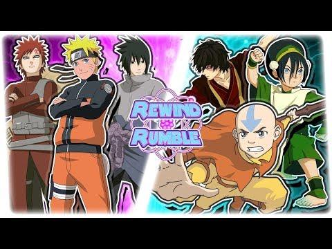 NARUTO vs AVATAR! (Aang vs Naruto Animation)   REWIND RUMBLE