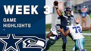 Cowboys vs. Seahawks Week 3 Highlights | NFL 2020