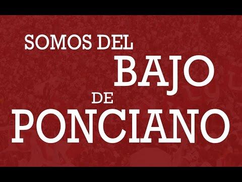 """""""Somos del bajo de Ponciano"""" Barra: Muerte Blanca • Club: LDU"""
