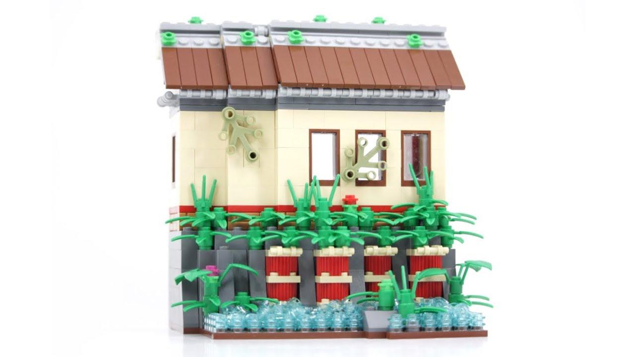 LEGO Ninjago-Style Fishing Hut MOC<br />