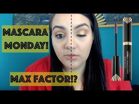 Mascara Monday: Max Factor MASTERPIECE MAX MASCARA!
