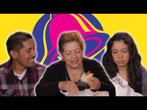 Mexican People Try Taco Bell For The First Time